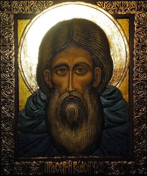 Икона - Сергий Радонежский