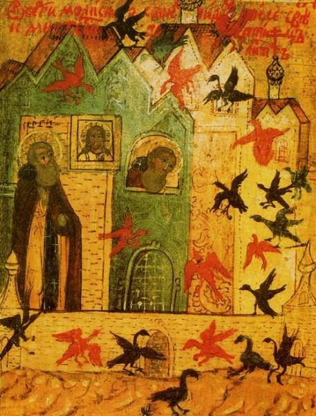 Икона - чудо о птицах
