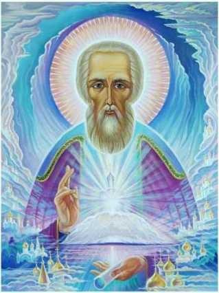 Известная икона с изображением Сергия Радонежского